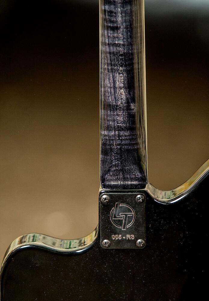 LT Custom Jazzmaster Flame Maple Neck