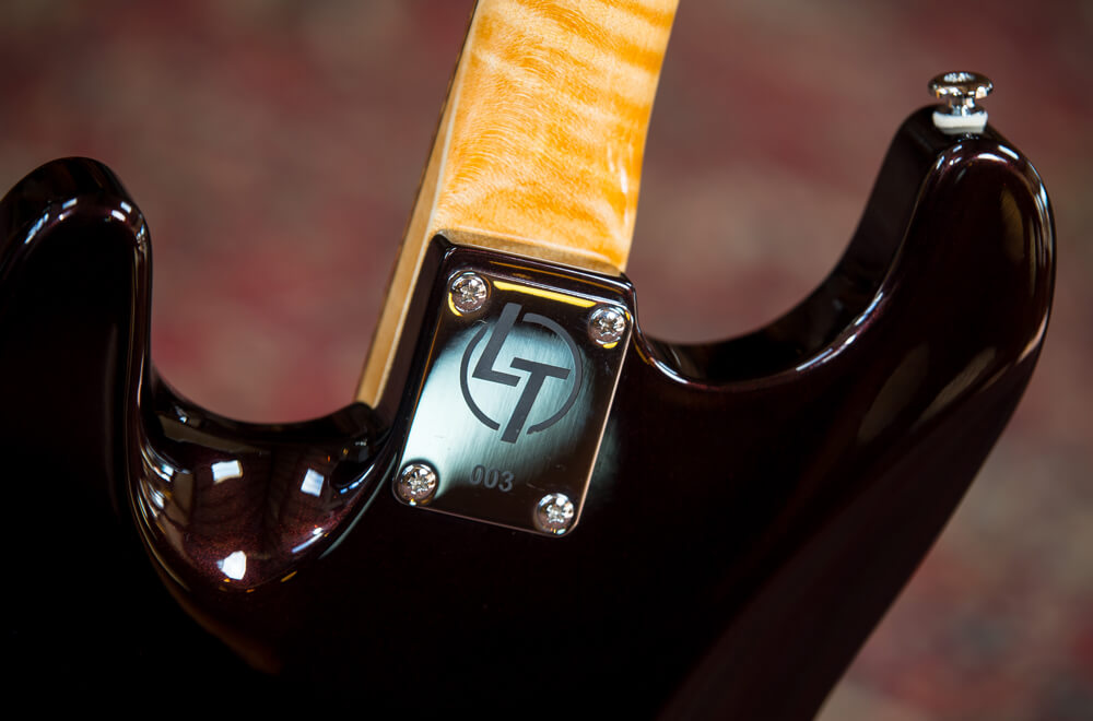 LT Custom Carve Top Strat Heel
