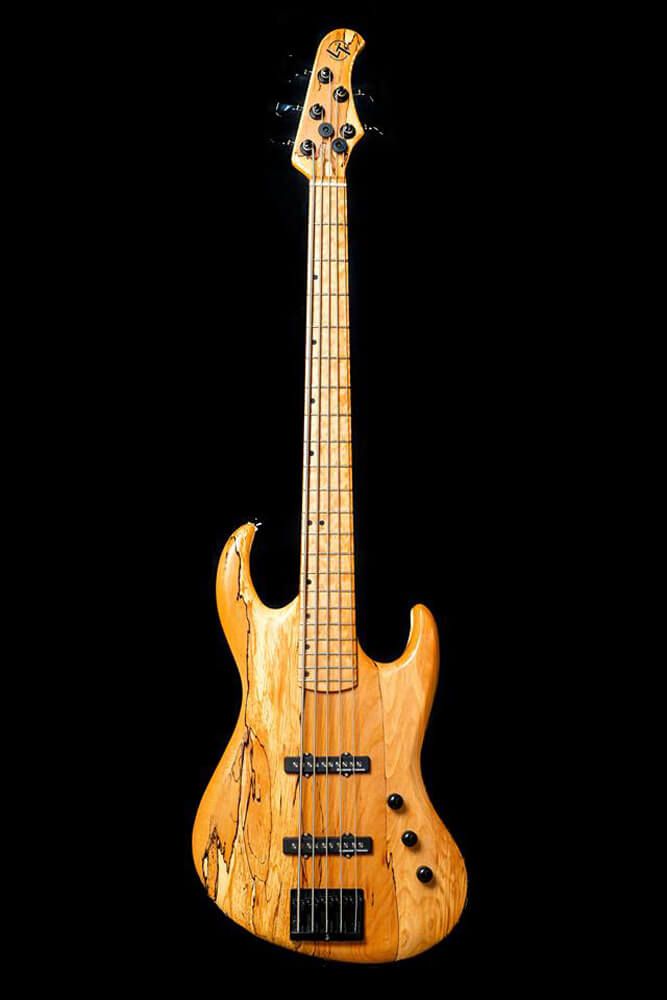 Custom Jaeger Jazz Bass Spalted