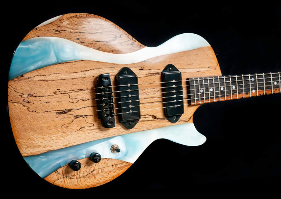 Custom Resin Guitars