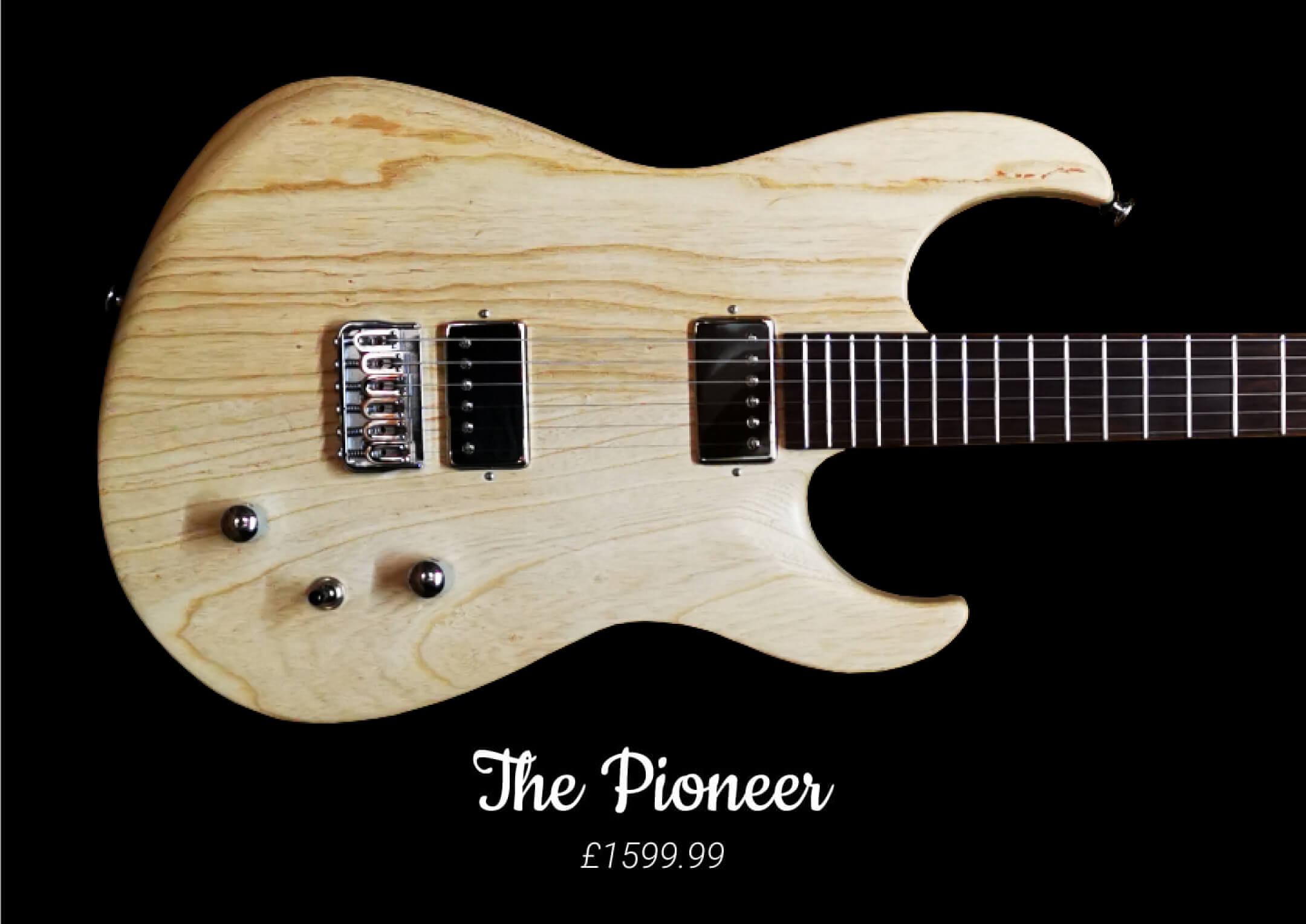 The Pioneer P1 by LT Custom Guitars